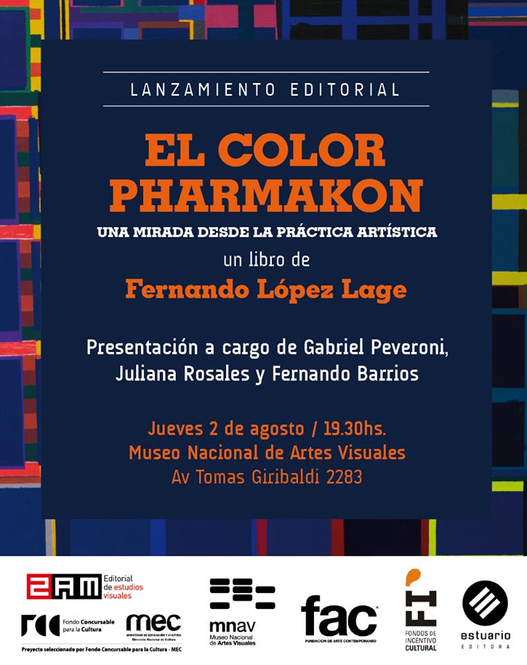 """Presentación: """"El color Pharmakon"""" de Fernando López Lage"""