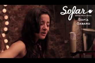"Sofía Gabard performing ""Movimientos"" at Sofar Sofar Montevideo on August 29th, 2015."