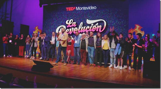 Novena edición de TEDxMontevideo 2018: La revolución creativa El domingo 9 de setiembre de 2018 tuvo lugar la novena edición de TEDxMontevideo a la que miles de espectadores siguieron a través de una transmisión especial desde sus celulares, computadoras y televisores, durante siete horas ininterrumpidas.