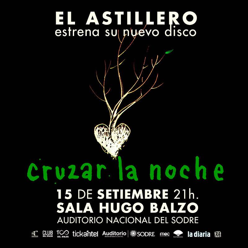 El astillero es un trío de autores e intérpretes formado en 2016 por Garo Arakelian (La Trampa), Diego Presa (Buceo Invisible) y Gonzalo Deniz (Franny Glass).