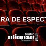 Cartelera de Espectáculos Setiembre Teatro Alianza