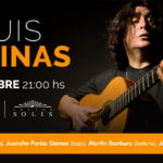 Luis Salinas – 29 de Octubre 21 hs – Teatro Solis – Jazz Tour 2018