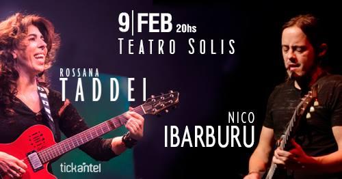 ROSSANA TADDEI Y NICOLÁS IBARBURU