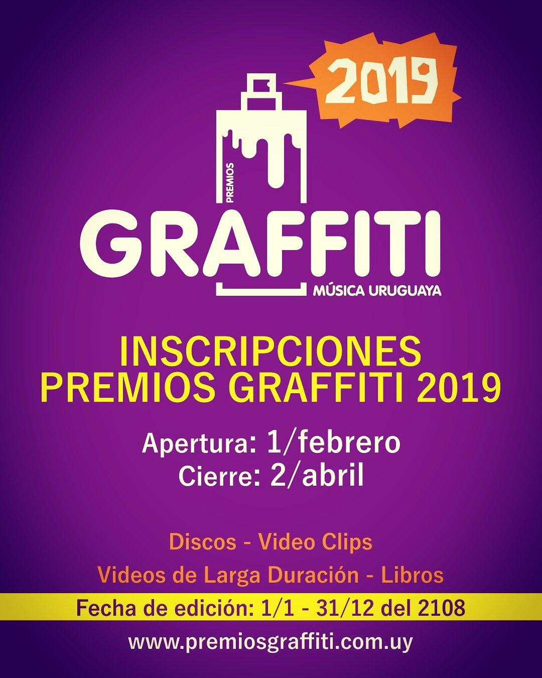 Premios Graffiti 2019