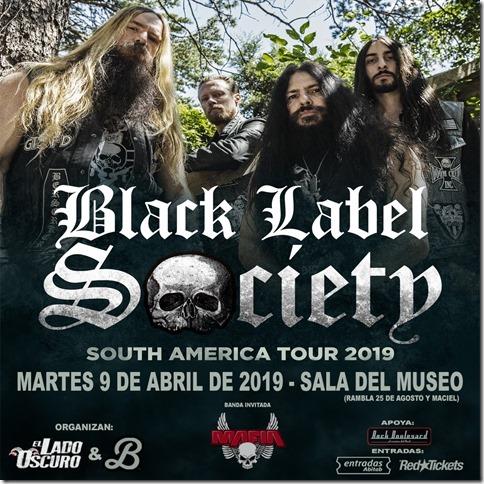 BLACK LABEL SOCIETY en Sala del Museo