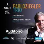 Pablo Ziegler Trio – Único show en Montevideo