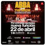 ABBA THE SHOW – 22 de abril – Auditorio Nacional del Sodre