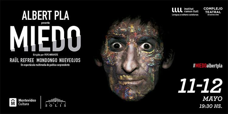 """Con Albert Pla """"Es un espectáculo muy antisocial"""" El artista catalán Albert Pla llega al Teatro Solís con su último espectáculo que abunda en la utilización de música y canciones, textos teatrales y tecnologías vanguardistas que crea un espectáculo multimedia de poética sorprendente."""