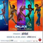 DISNEY ON ICE PRESENTA CONQUISTA TUS SUEÑOS desde el 25 al 1 de Julio en Antel Arena