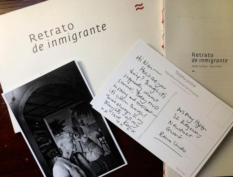 El Centro de Fotografía de Montevideo invita a la presentación del libro Retrato de Inmigrante, del fotógrafo Pablo La Rosa y la escritora y periodista Silvia Soler, el martes 9 de abril, a las 19.30 h en la Sede CdF (Av. 18 de Julio 885).