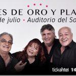VOCES DE ORO Y PLATINO  21 de julio Auditorio Nacional del SODRE