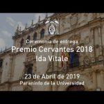 Ida Vitale – Entrega Premio Cervantes 2018 · 23/04/2019