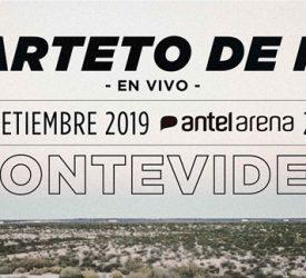 Cuarteto de Nos presenta su nuevo disco JUEVES en Antel Arena