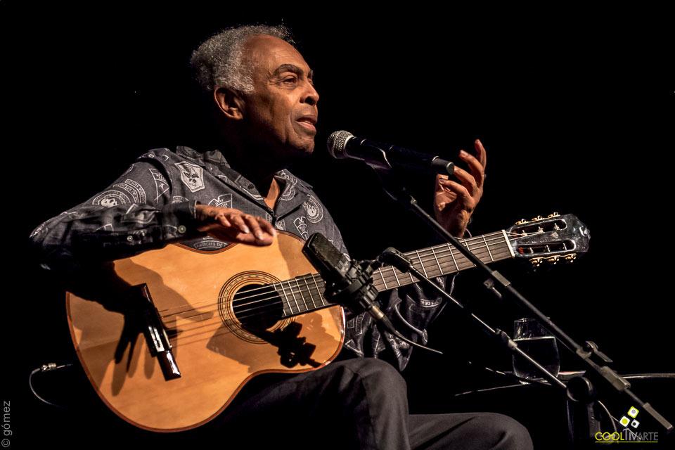 Gilberto Gil Voz e Violão - mayo 2019 - pin Auditorio Nacional Adela Reta - Foto © Ricardo Gómez Antonich www.cooltivarte.com