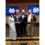 Luis Bravo recibe el Premio Shaheen en Humanidades – Notre Dame University