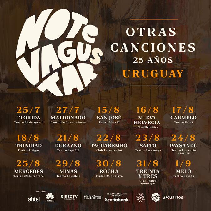 NTVG_ Gira Nacional #OtrasCanciones25años