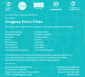 LANZAMIENTO URUGUAY ENTRE VIÑAS
