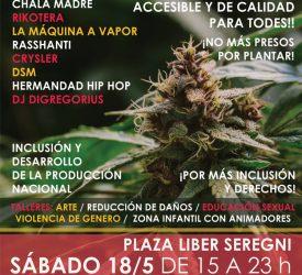 Marcha Mundial de la Marihuana 2019