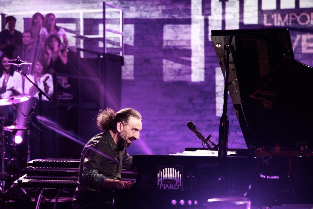 ITALIA IN SCENA BOLLANI Piano solo Fotografía Cortesía CTBA
