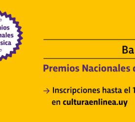 Premios Nacionales de Música 2019
