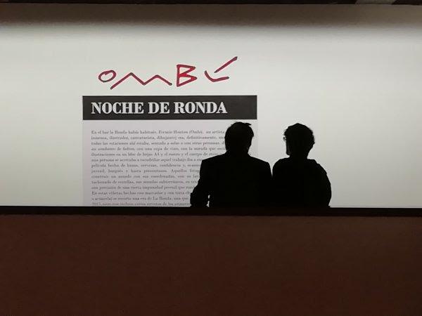 """Visita guiada por la exposición """"Ombú - Noche de Ronda"""" Sábado 8 de junio 17:00 horas Sala 3"""