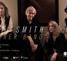 Patti Smith and Her Band en Montevideo