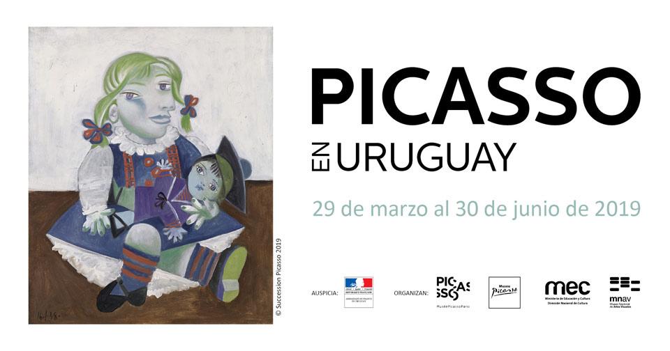 Picasso en Uruguay Desde el viernes 29 de marzo al domingo 30 de junio de 2019 Salas 4 y 5