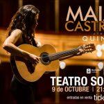 MAIA CASTRO presenta QUINTO en el Teatro SOLÍS