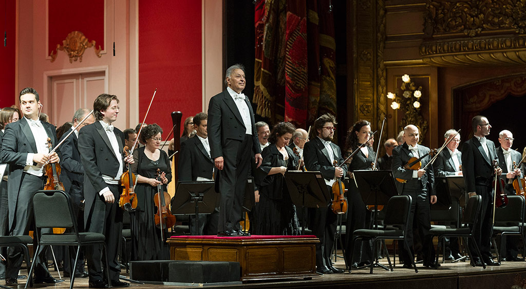 Zubin Mehta y la Orquesta Filarmónica de Israel (c) Máximo Parpagnoli