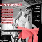 Noche de performances en Pensión Cultural Milán