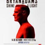 BRYAN ADAMS – Antel Arena – Entradas en venta