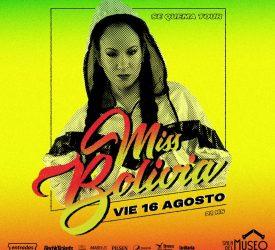 Miss Bolivia - 16 de agosto en la Sala del Museo