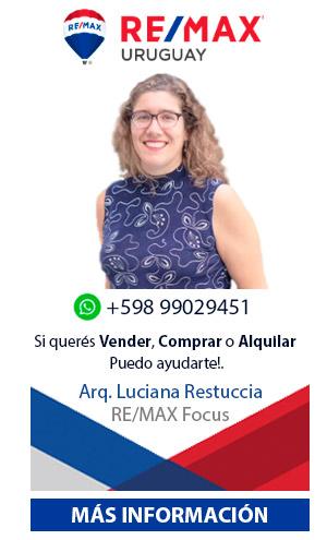 Arquitecta Luciana Restuccia Agente Inmobiliario Remax Focus