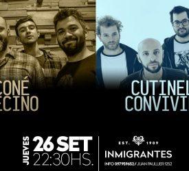 Cutinella & Convivientes - Coné Vecino en Inmigrantes: 26 de setiembre