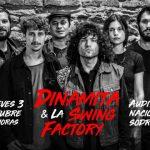 Dinamita & La Swing Factory en vivo en la Sala Hugo Balzo