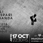 Lali Gaspari & banda – 17 de Octubre en Inmigrantes