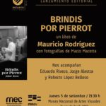 """Presentación de """"Brindis por Pierrot"""""""