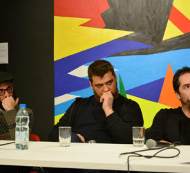 Subte Charla con artistas del 49 Premio Montevideo