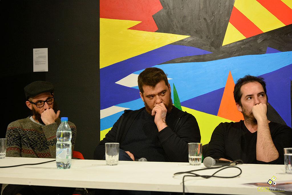 Subte Charla con artistas del 49 Premio Montevideo - Charla con Fernando Foglino, Martín Peréz y Agustín Sabella - Setiembre 2019 - Centro de exposiciones Subte - Foto © Federico Meneses www.cooltivarte.com ..