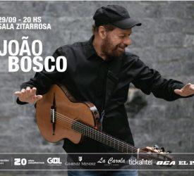 Maravilha da vida: Joao Bosco y banda en la Zitarrosa