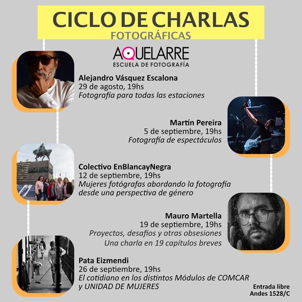 MARTÍN PEREIRA - CICLO DE CHARLAS FOTOGRÁFICAS - AQUELARRE FOTOGRAFÍA DE ESPECTÁCULOS