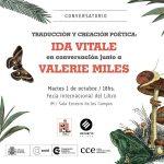 Traducción y creación literaria: Ida Vitale y Valerie Miles