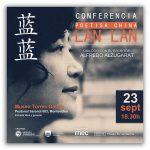 Conferencia de la Poetisa China Lan Lan