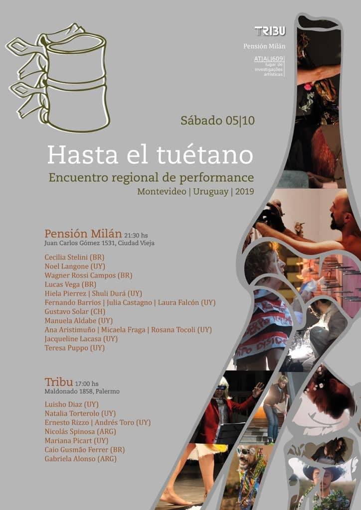 Hasta el tuétano - Encuentro regional de Performance