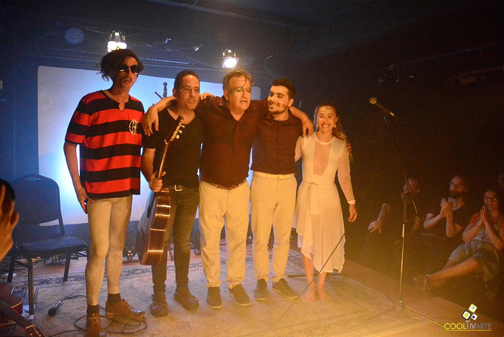 LOS PALOS + X HORA X DIA X MES en Teatro Ducon - Noviembre 2019 - Foto © Federico Meneses www.cooltivarte.com