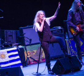 Patti Smith en Montevideo: Lady Train.