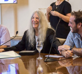 Patti Smith visitante ilustre de Montevideo