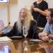 Patti Smith fue distinguida como visitante ilustre Intendencia de Montevideo 20 de Noviembre 2019 Fotografia: Virginia Prado www.cooltivarte.com