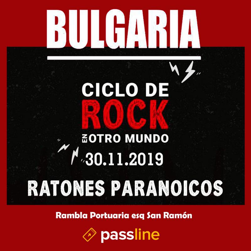 BULGARIA junto a Ratones Paranoicos