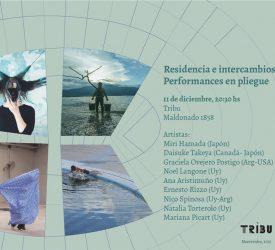Residencia e intercambios Tribu – Performances en pliegue